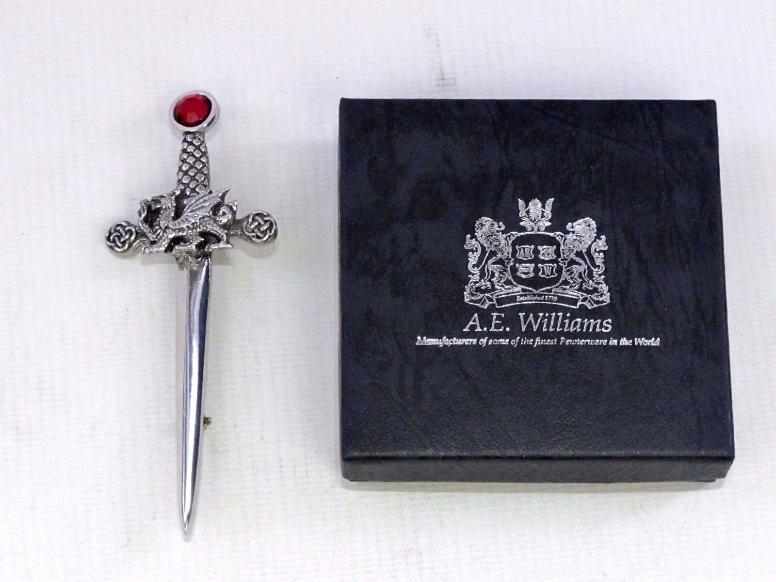 Fearsome Walisisch Drachen Hartzinn Kilt Stift von A E E E Williams Birmingham UK | Günstige Preise  | Elegante und robuste Verpackung  | Modisch  37a758