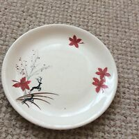 1950s Alfred Meakin Red Leaping Stag Side Plate