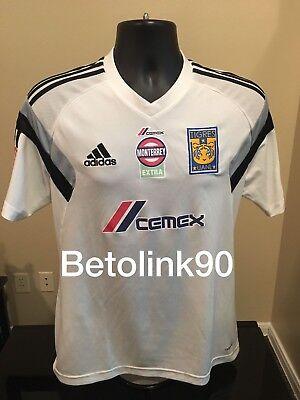 Jersey Tigres UTILERIA Entrenamiento Blanca MEDIUM Adidas | eBay