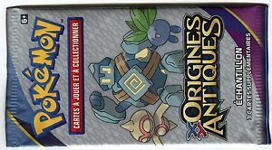POKEMON-BOOSTER-ECHANTILLON-COLLECTOR-FRANCAIS-XY7-ORIGINES-ANTIQUES