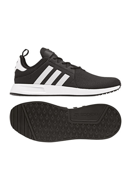 424cd6d01c8f5a adidas SNEAKERS X PLR Black White CQ2405 44 Black for sale online
