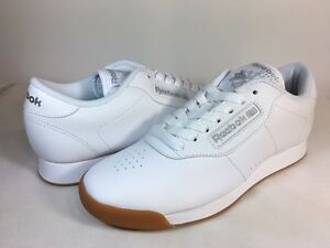 Image is loading REEBOK-WOMEN-CLASSIC-PRINCESS-LOW-BS8458-White-White- 4d5bd668f6
