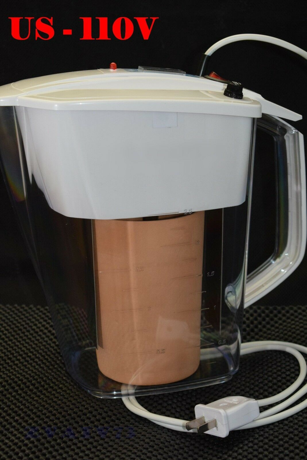 NEW Ionizer Activator Live&Dead Water US 110V (titanium electrodes)