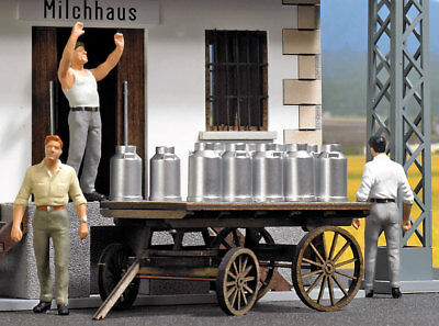 Busch 10262 Scala 0, Lattine Di Latte # Nuovo In Confezione Materiale Selezionato