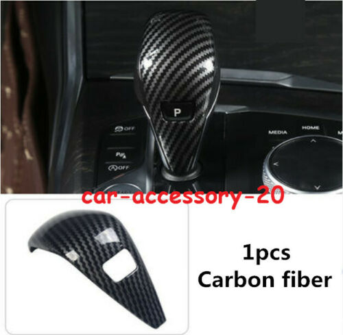 New Carbon fiber Gear Lever Shift Knob Cover Trim For BMW 3 Series G20 2019 2020