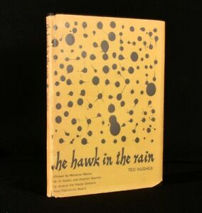 1957 The Hawk in the Rain Ted Hughes First Edition