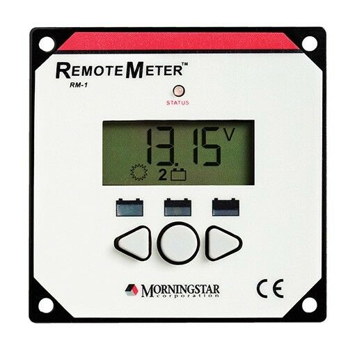 Morningstar Remote Meter RM-1-CN for SunSaver Duo   MPPT & Sure Sine InGrüner