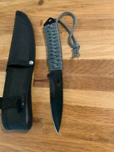 Avalanche camping Knife W/ X-Large Rope Handle W/Carrying Case