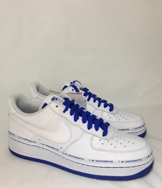 Nike Air Force 1 '07 Uninterrupted More Than an Athlete QS Size 10 Cq0494 100