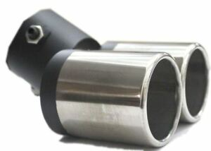 DUAL-EXHAUST-PIPE-VEHICLE-MUFFLER-TIP-FOR-CAR