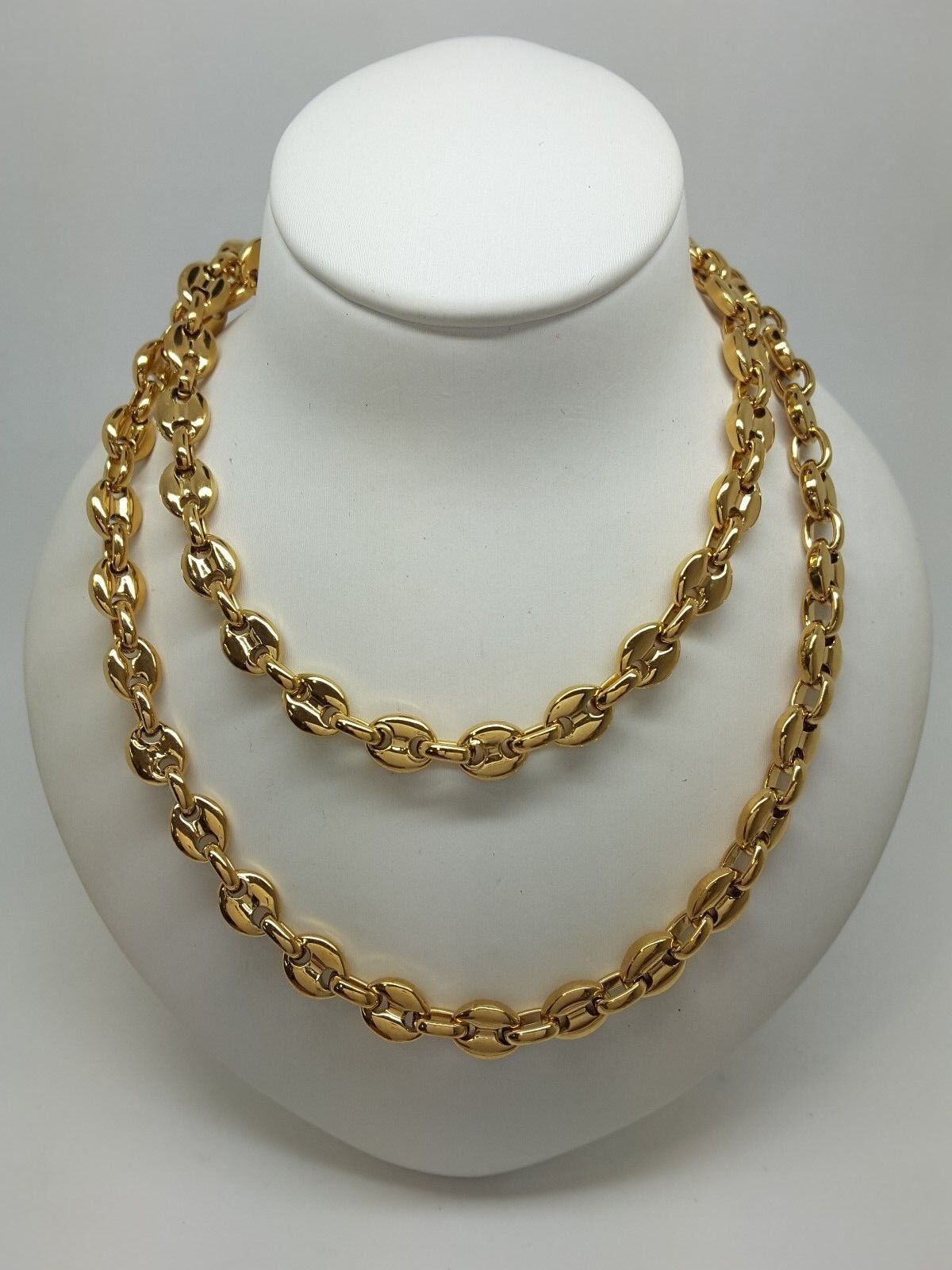 Miran 300245 Stainless Steel gold Plated Anchor Chain 55cm 34.3g RRP  70