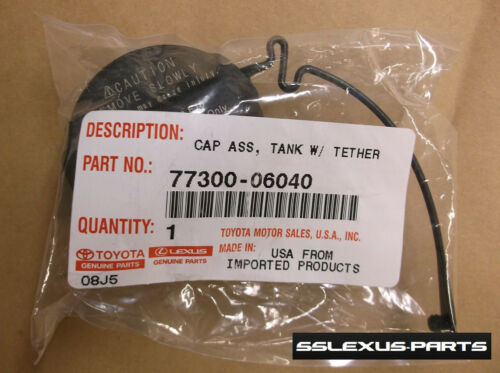 Toyota Highlander OEM Genuine GAS CAP 77300-06040 2007-2013