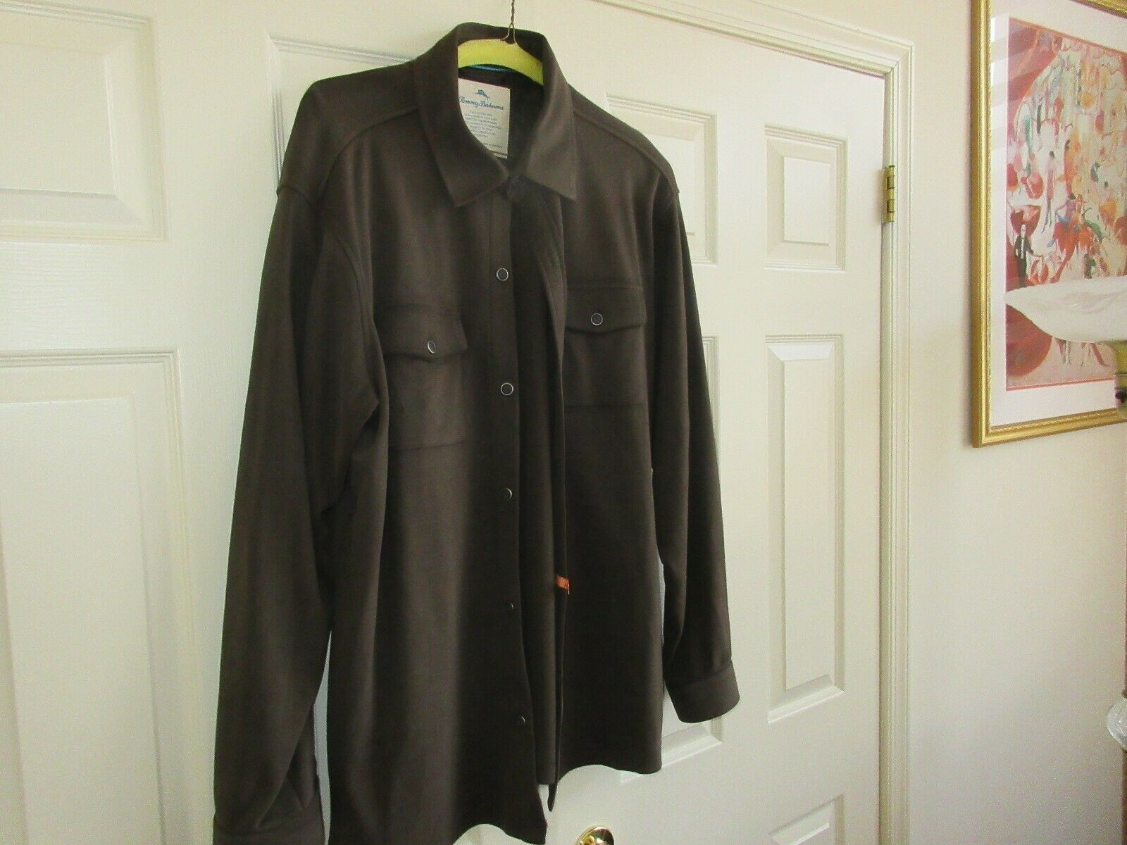 Tommy Bahama , Jacket , Button Front , 100% Pima Cotton