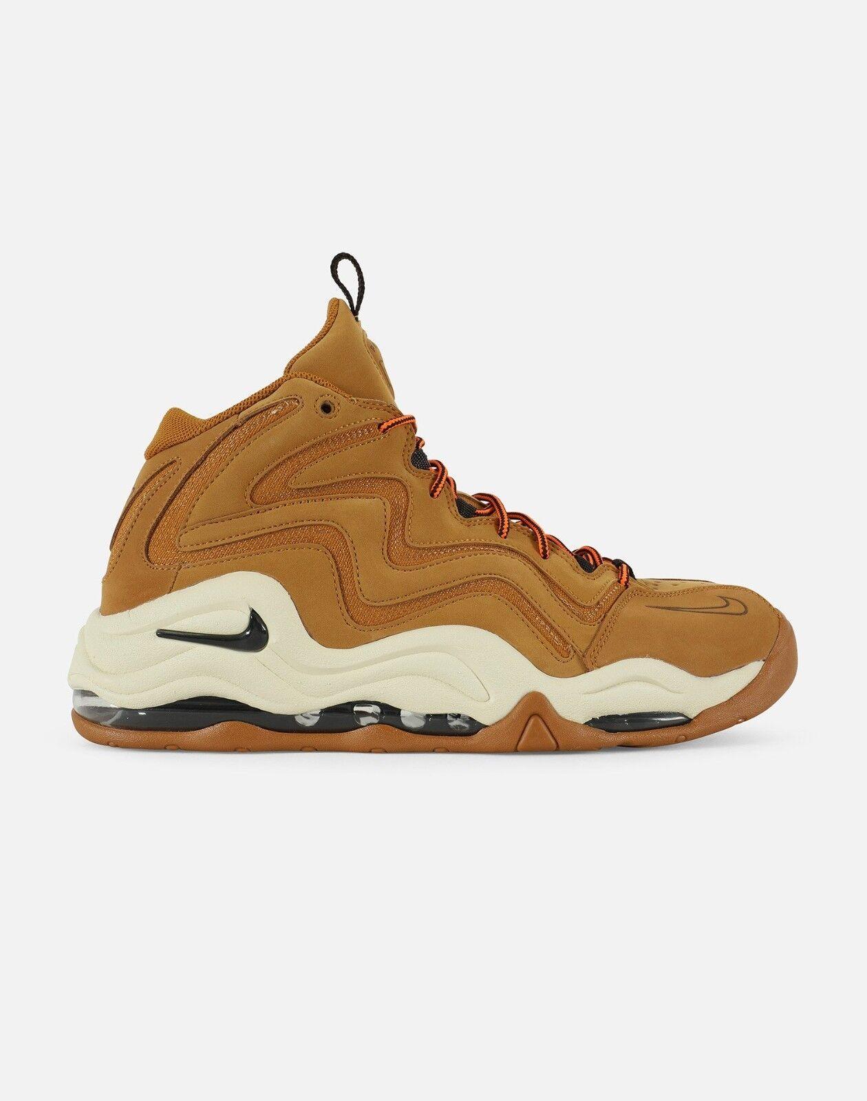 Nike Air Pippen Velvet 7.5 Brown Wheat Men SZ 7.5 Velvet - 13 724c32