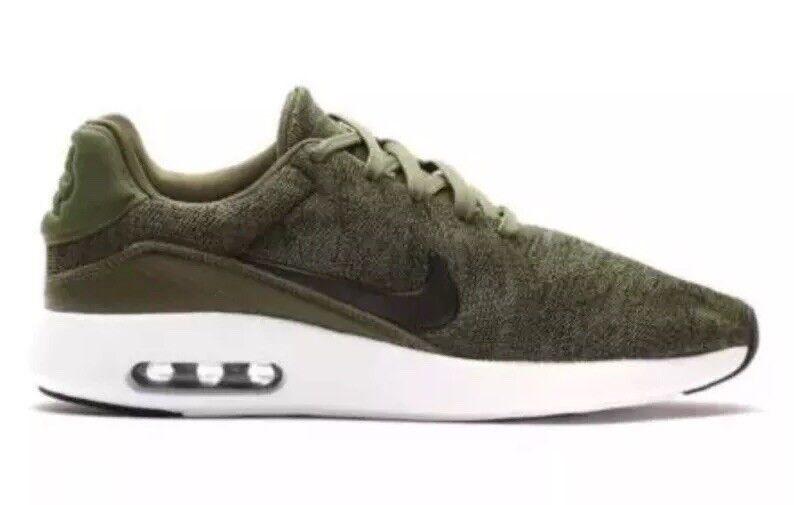 d492113b265 Nike Air Max Modern Flyknit Sz 13 Rough Green Black White Running ...