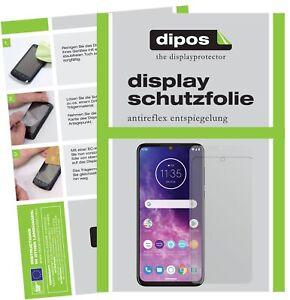 2-2x-Motorola-One-Zoom-Schutzfolie-matt-Displayschutzfolie-Folie-Display-Schutz
