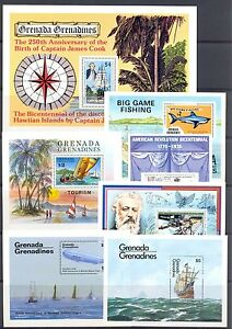 ENGLISH COLONY GRENADA GRENADINES 7 x BL. SHIPS ** MNH VF - Wesepe, Nederland - EBay HAVE A GOOD AUCTION SEE FOR MORE IN OUR EBAY SHOP POSTZEGELEXPRESPHILATO LOOK AT WWW. STORES.EBAY.NL / POSTZEGELEXPRESPHILATO LOOK AT WWW.STORES.EBAY.COM / POSTZEGELEXPRESPHILATO MET VOLLEDIGE ECHTHEIDS GARANTIE -PAYMENT-BY PAYPAL - Wesepe, Nederland