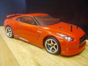 Custom Painted Body Nissan Gt R R35 For 1 10 Rc Drift Cars Touring