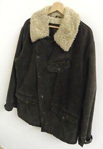 Vintage-Belstaff-Aviator-Trench-Jacket-Coat-Size-Large-Rare-100-Original-J919