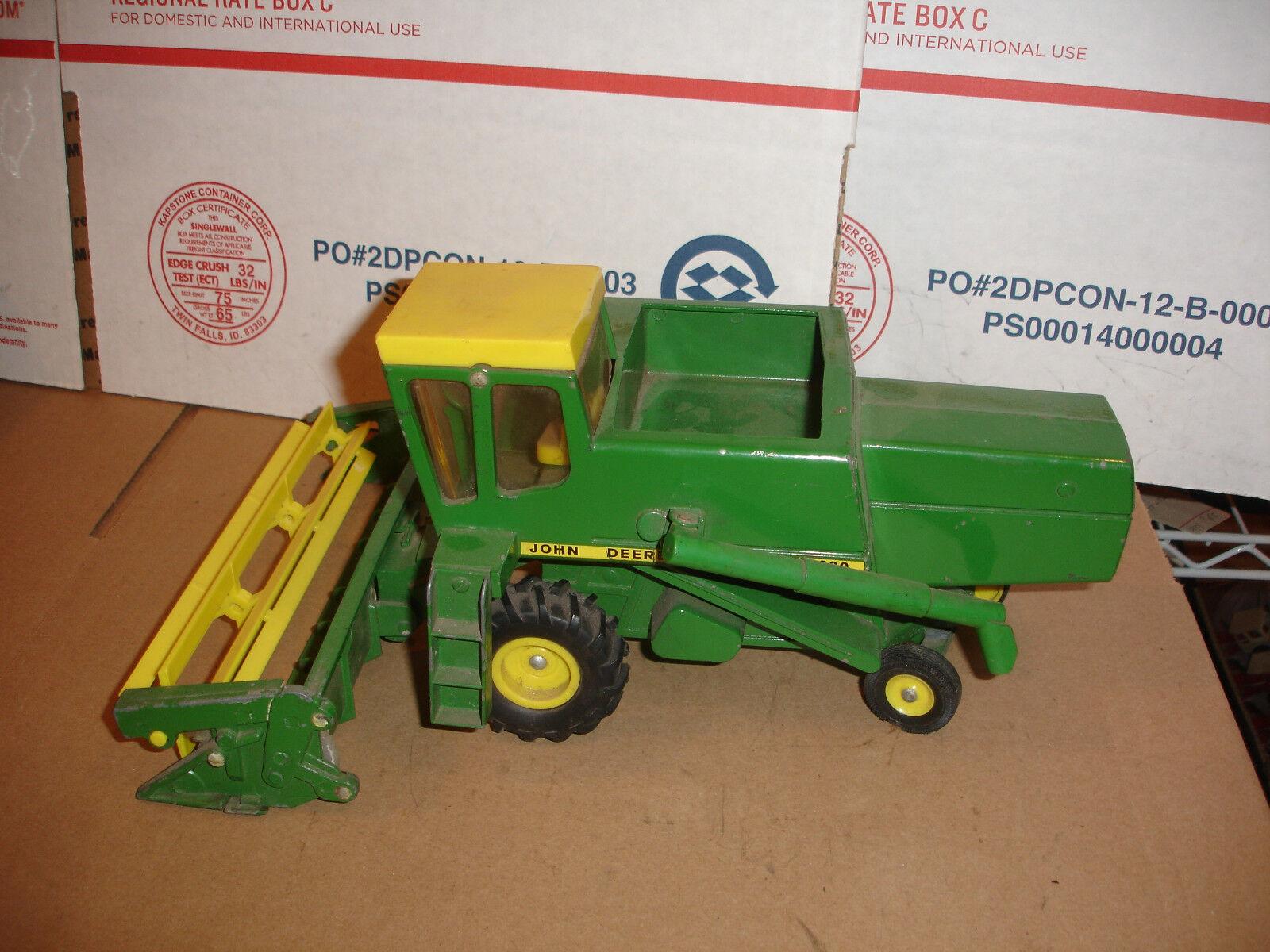 1 28 john deere 6600 toy combine