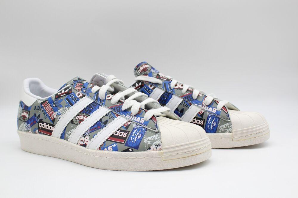 Adidas Superstar Années 80 Pionniers par Nigo B35768 NWOB