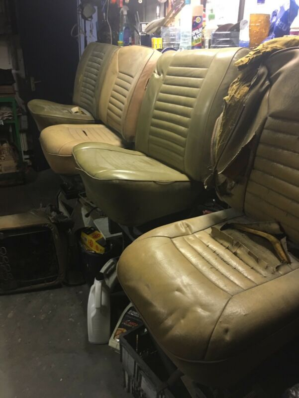 Beetle front seats