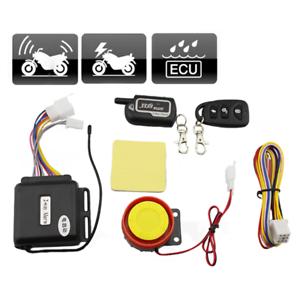 Anti-theft Motorcycle Lock Security 2Way Alarm 125dB Remote Control Engine Start