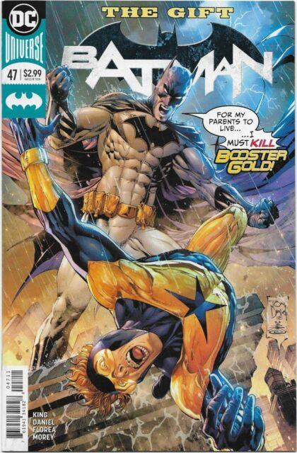 Batman (Rebirth) #47 - VF/NM - The Gift / Booster Gold