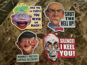 Jeff-Dunham-Ventriloquist-Comedian-All-4-Magnets-Walter-Peanut-ect