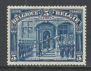 Belgium Stamps 1915 Obp 147 5 Franken Mlh Vf Ebay