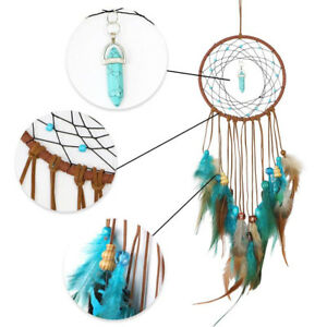 Handmade-Dream-Catcher-Feathers-Decoration-Car-Wall-Hanging-Room-Home-Decor-Gift
