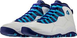 68eeb3ce279360 Nike Air Jordan Retro X 10 CHA Charlotte size 12.5. Purple Teal ...