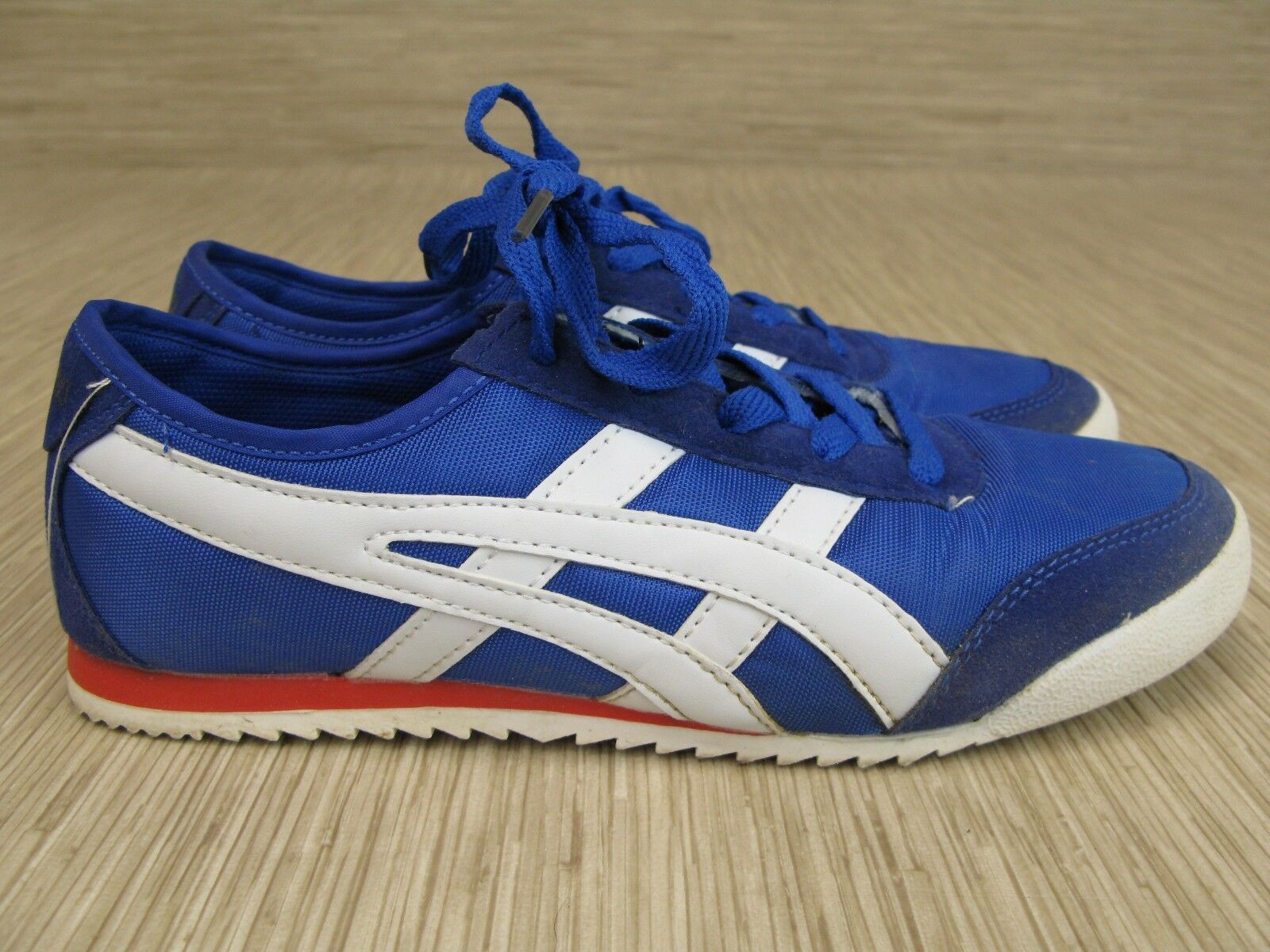 Onitsuka Yound bluee Synthetic shoes Women's Size US 9-10 Lace Up Athletic