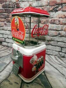 Coke-Coca-cola-gumball-machine-glass-man-cave-gift-Coke-spirit-boy