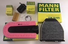 MANN-FILTER ÖLFILTER LUFTFILTER AKTIVKOHLEFILTER KRAFTSTOFFFILTER W212 W204 CDI