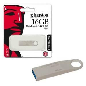 16GB-NEW-Kingston-Data-Traveler-SE9-G2-USB-3-0-Flash-Drive-Memory-Stick-16GB
