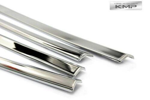 Chrome Window Under Line Sill Trim Molding k257 for SSANGYONG 2001-2012 Rexton