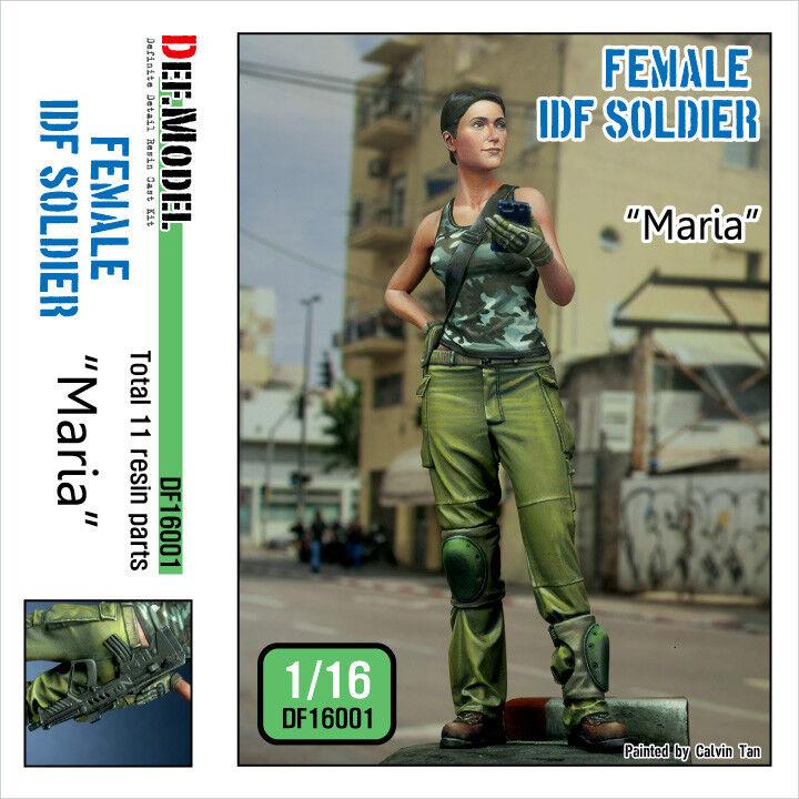 DEF 1 16 Modern IDF Female Soldier - Maria