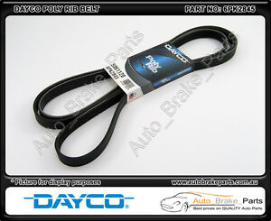 Dayco-Poly-Rib-Drive-Belt-for-HOLDEN-CALAIS-VX-3-8L-V6-S-C-L67-6PK2845
