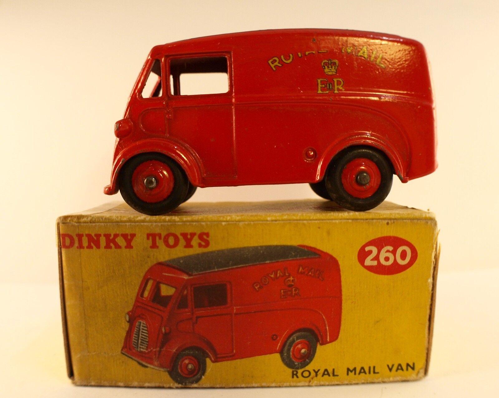 Dinky toys gb no. 260 morris royal mail van in box