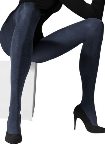 3D Microfibre Satin Gloss Pantyhose Mar Women/'s 150 Denier Shiny Opaque Tights