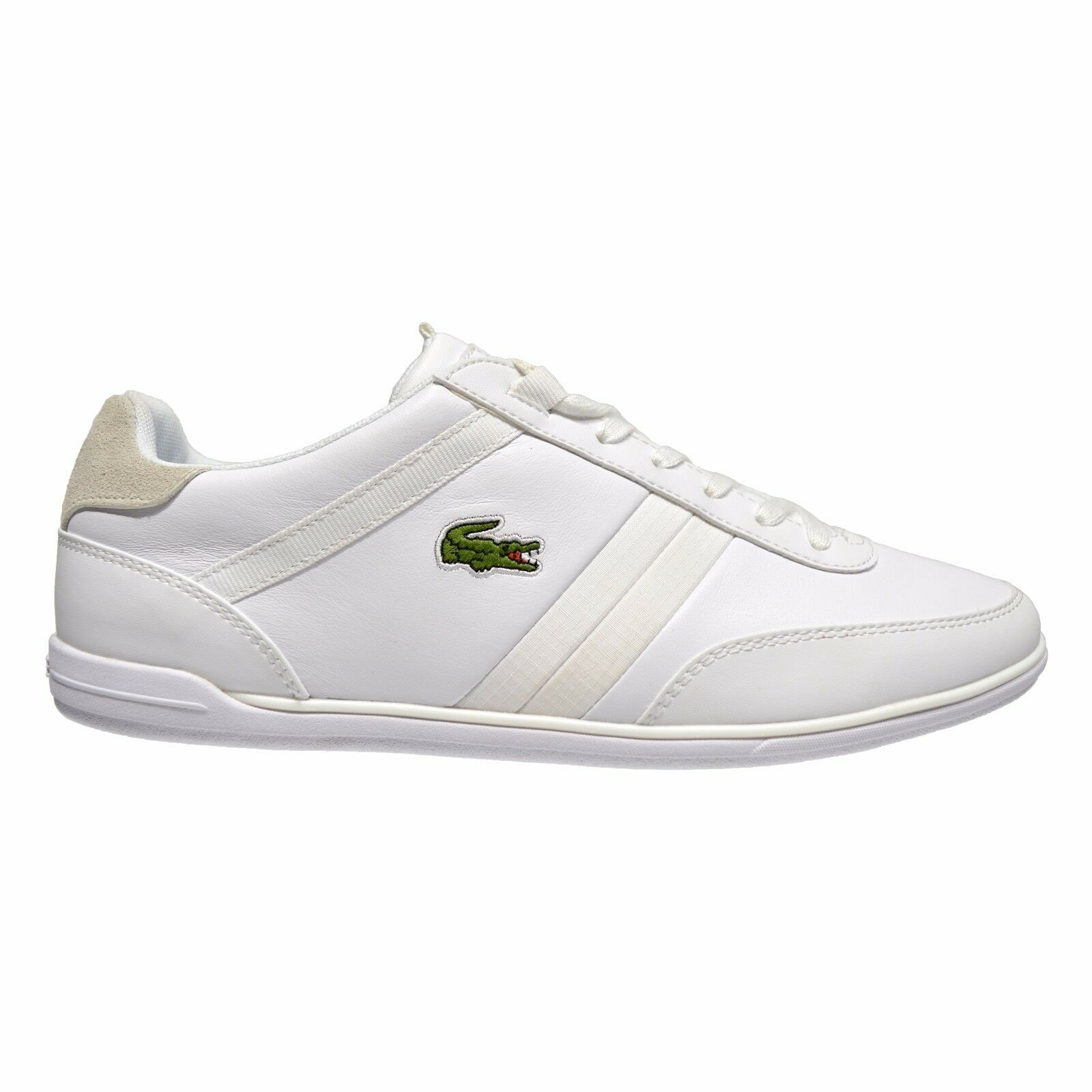 Lacoste Giron Men's Leather Low Top Sneakers White