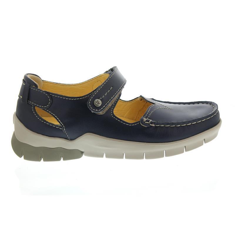Wolky Polina, Polina, Polina, bleu Summer, LEOA leather, Basse, Velcro 01754-70870 2c2f75