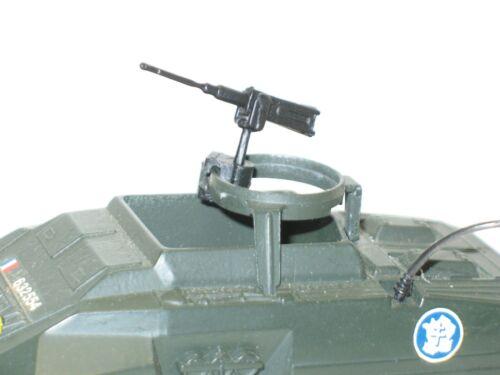 SOLIDO .. 1 mitrailleuse 12//7 pour camion GMC tourelle ou chars