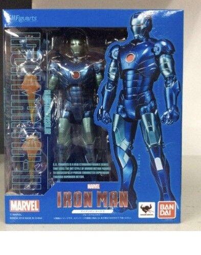 Bandai Premium S.H. Figuarts Figura De Iron Man Mark 3 Iii azul Stealth Color