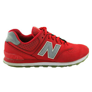 New-Balance-574-Mens-Size-10-Red-Lace-Up-Running-Casual-Shoes-ML574SYD
