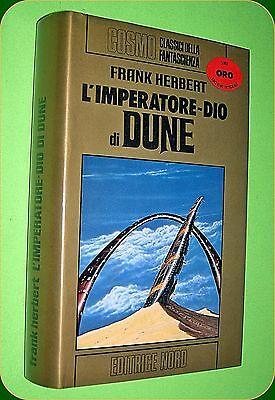 COSMO  ORO  N. 53  L'IMPERATORE-DIO DI DUNE  FRANK HERBERT- ED. NORD 1982