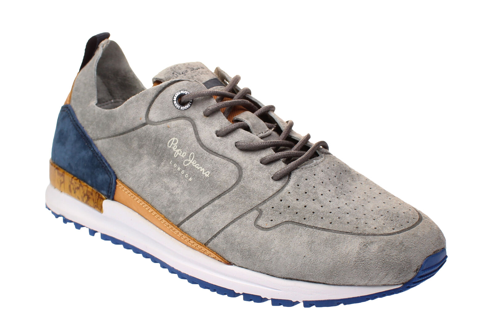 Pepe Herren Jeans PMS30411 TINKER - Herren Pepe Schuhe Sneaker - 945-Grau 69f6db