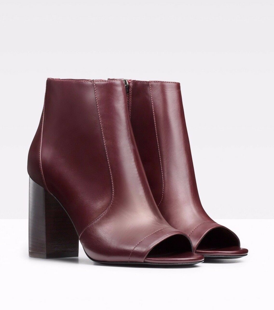 Vince. Chaussures Fionn Peep Toe Chaussures bottines bottines bottines talons Fig en Cuir 8  425 1c59b4