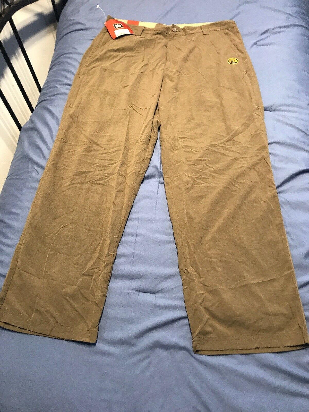 NWT REI Mens UPF 40+ Hiking Camping Pants Outdoor Olive Green Size 38x32 SC8
